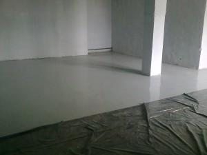 бетонный пол для помещений