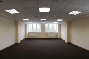 пол в офисном здании