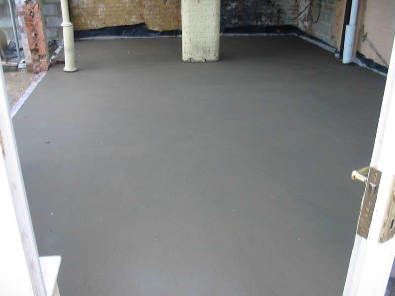 сколько сохнет бетонный пол